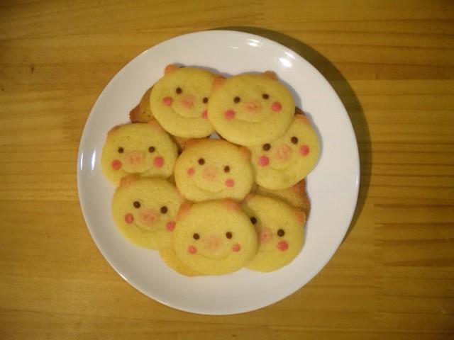 ブタ☆クッキー