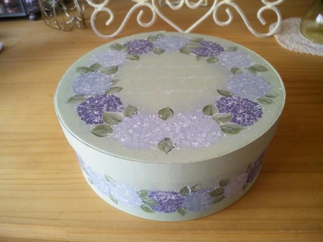 紫陽花の箱