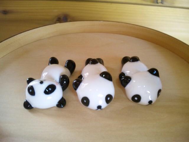パンダの箸置き☆